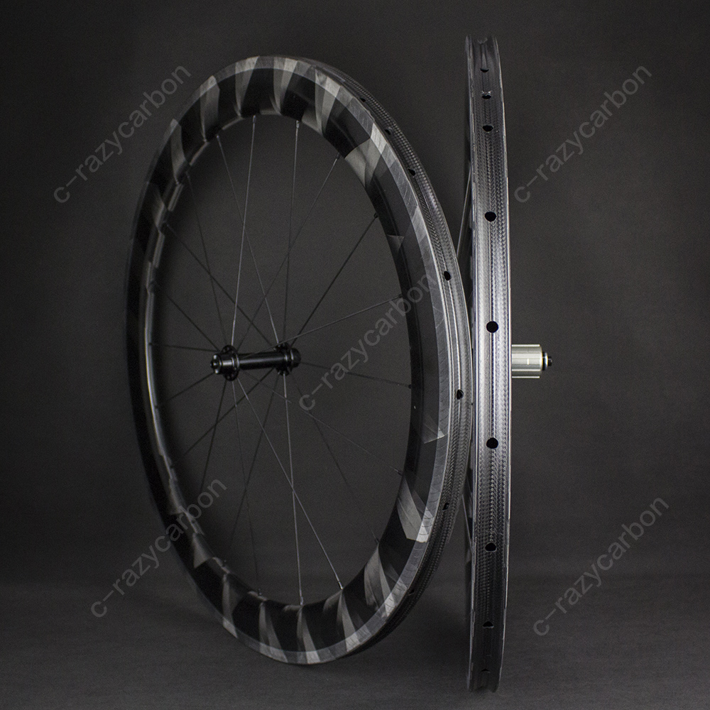 2019 Lightweight X Wheels Clincher Tubular 50mm depth Wheels hubs Road Bicycle with AERO Flat spokes