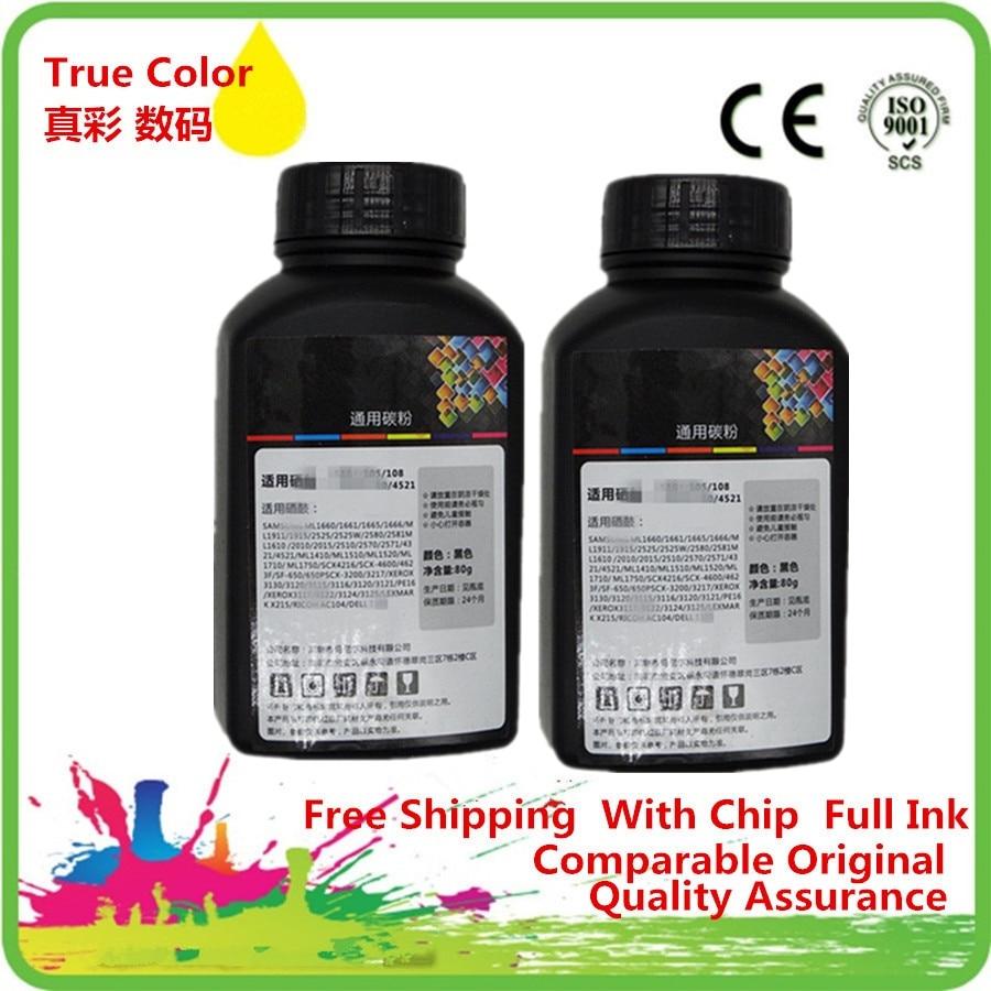 80g//Bottle,2 Pack 700 720 730 760 2030 2040 2070N 2075N 2120 2125 2170 2130 2132 1030 Imported Toner Power Laser Printer 80g Original Black Refill Laser Printer Toner Powder Kit for Brother HL