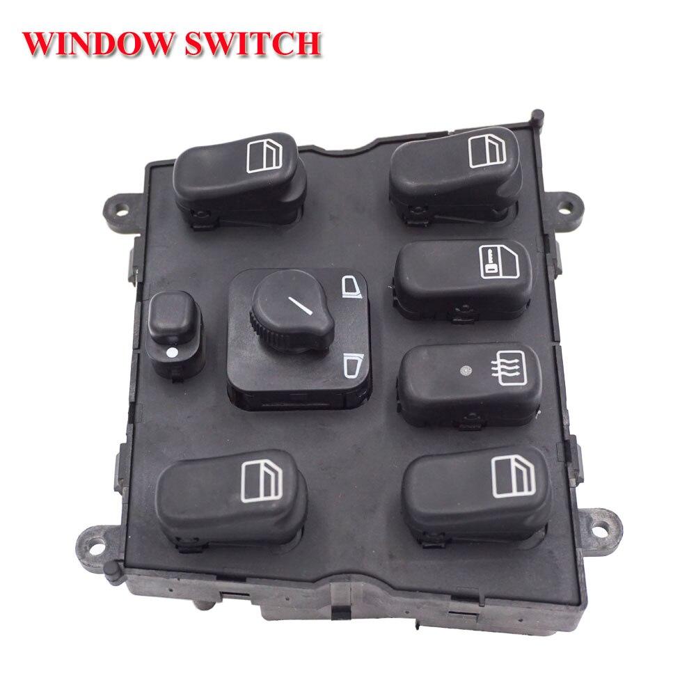 Électrique fenêtre commutateur avant pour mercedes-benz classe m W163