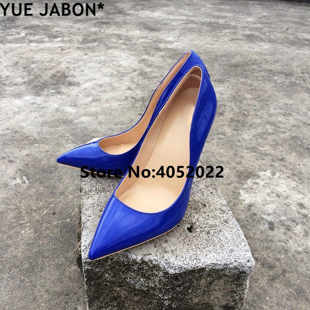 2 Yue 12 Tamaño Picture 3 Stilettos Punta La Tacones Cm Boda Señora 43 Zapatos picture Mujer Jabon 1 picture De Altos Para Azul Sexy Lujo Bombas rwqRxrgY