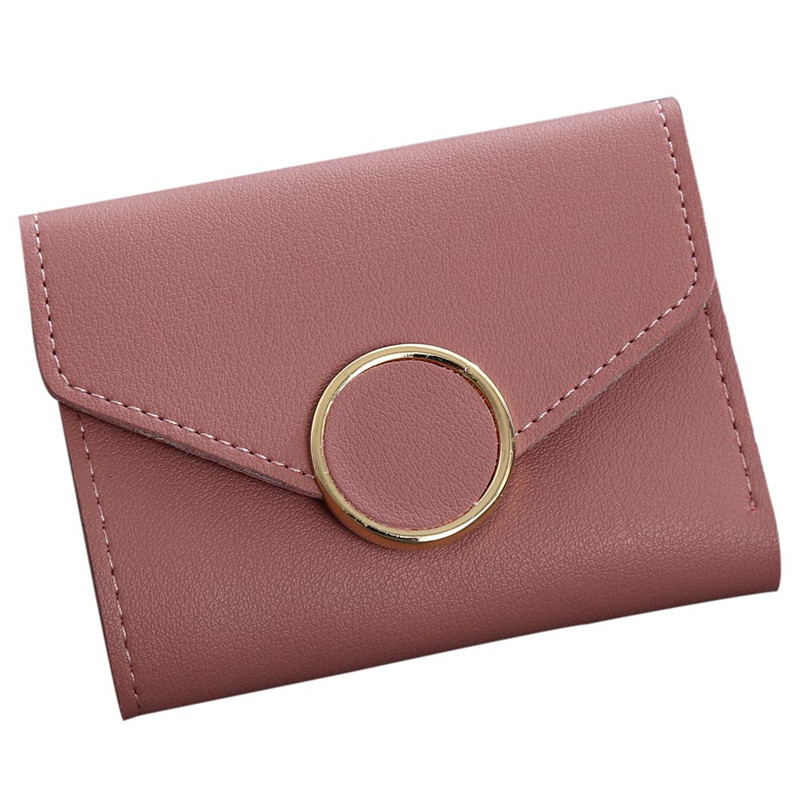 Woweino Leather Women Short Wallets Ladies Fashion Small  Hasp Coin Purse Card Wallet Purses Handbag Money Bag Carteira Feminina simline fashion genuine leather real cowhide women lady short slim wallet wallets purse card holder zipper coin pocket ladies