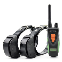 PET617 Pet Dog Training Electric Collar 600M Remote Control Static Shock Vibration LCD Waterproof Rechargeable For 1 or 2 Dogs