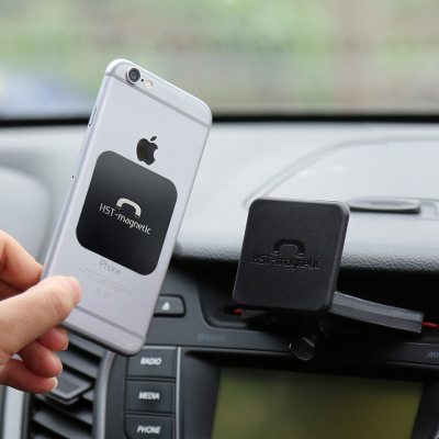 Car Mount CD Slot Holder Tablets Magnetic Stand Car 360 Rotation Bracket for iPhone X iP ...