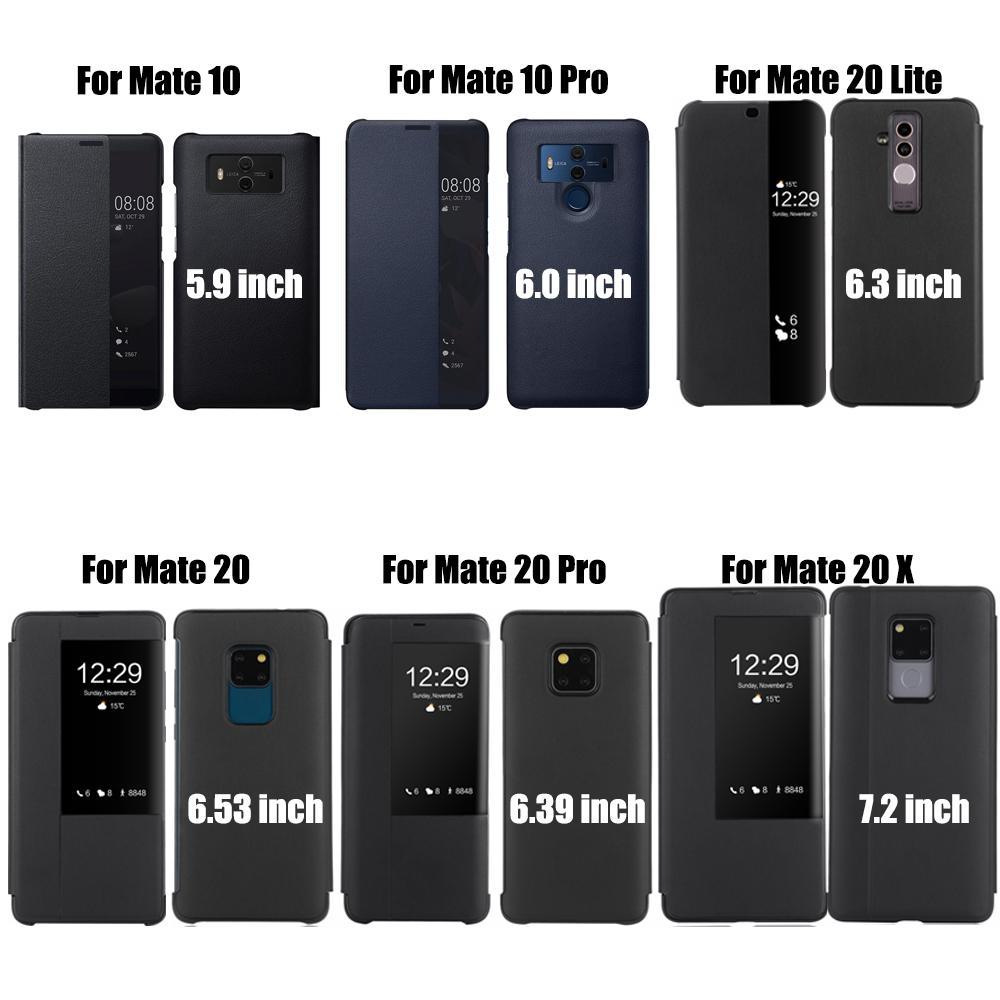 Leather Flip Cover for Huawei P30 Pro P20 Mate 20 Lite X 10 P10 Plus Mate20 Mate10 P 30 P30pro P20pro 20pro Mate20pro 10