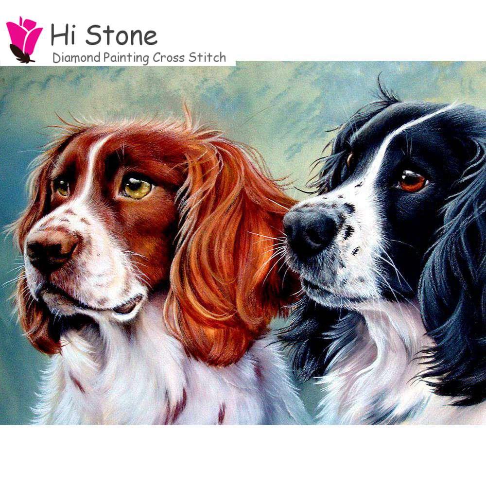 5D поделки алмазов картина собаки полный квадратный рукоделие Алмазная мозаика, алмазная Вышивка Хобби и ремесла Подарки