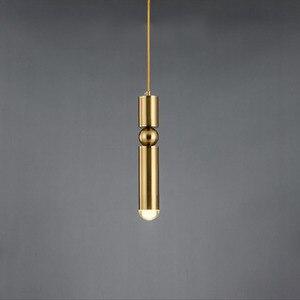 Image 4 - Moderne Nordic AMBIT Hanglampen Denemarken Gekleurde Macaron Aluminium LED hanglamp Keuken Restaurant Licht Plafond Armaturen