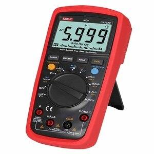 Image 3 - UT139E صحيح RMS الرقمية متعددة مسبار درجة الحرارة LPF تمرير تصفية لوز لوز (إدخال مقاومة منخفضة) وظيفة/اختبار درجة الحرارة EB