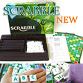 Scrabble Original English Version Puzzles Board Game for Kids Toy Family Dinner Party Games Children Fun Crossword Spelling Game