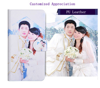 Personalized Picture Bag For SONY Xperia M M2 M4 Aqua M5 Customized Photo Leather Case For