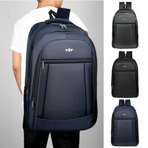 Image 1 - Fashion Men Backpack Oxford Shoulder Bag Super Large Capacity Backpacks For Male High Quality Men Laptop Casual Travel Bag