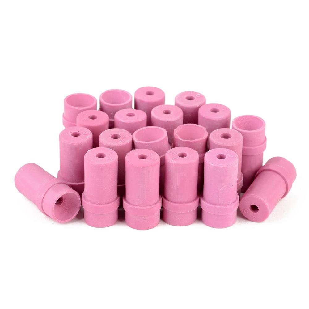 20Pcs Replacement Blasting Ceramic Nozzles Sandblaster Air Sand Nozzle Tips 4.5mm For Sand Blast Gun