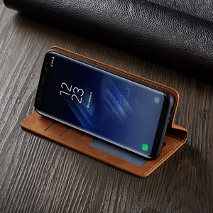 Image 2 - Flip Cover Wallet Luxury Leather Phone Case For Samsung Galaxy S8 Plus Magnetic Stand SM G950F G955F Galaxys8 S8plus S 8 8plus