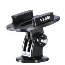 VIJIM GP 2 Base de dégagement en aluminium Quik pour caméras daction plaque dinstallation rapide pour Gopro765 Osmo Action EKEN SJCAM caméras daction