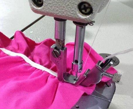 Elastic Shirring Presser Foot,Industrial(Computerized) Lockstitch Sewing Machine Parts,Steel,For Juki,Brother,PFAFF,ZOJE,JACK...