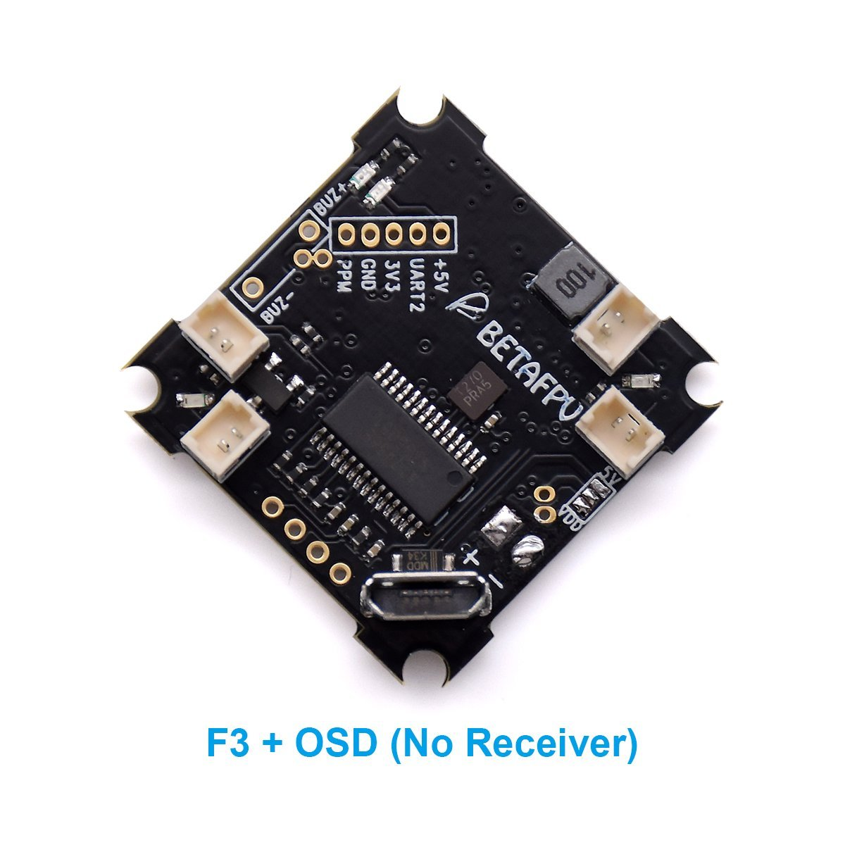 BETAFPV F3 Whoop Flight Controller with Betaflight OSD NO Receiver Version