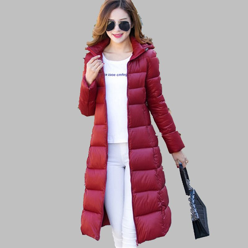 Han Edition Latest Winter Women Cotton-padded Clothes Leisure Loose Thicken Coat Pure Color Long Sleeve Cotton Coat  A0013 winter thicken cotton padded baby clothes set coat