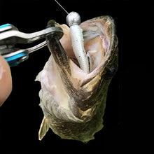 Fishing hook lead head Jig lure hard bait soft worm jig hook for fishing