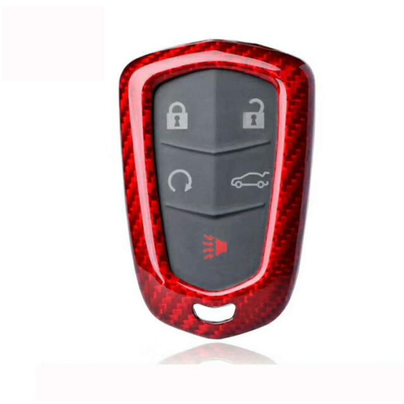 Aliexpress.com : Buy Red Carbon Fiber Car Key Shell Cover