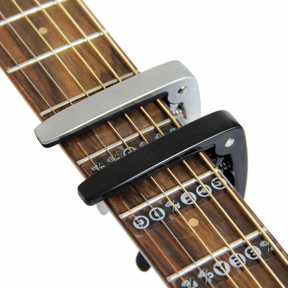 Capo Guita Capo Black Capo Acoustic Electric Bass Guitar Clamp Ukulele Capo 1 Pc
