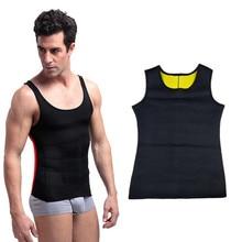 Mens Hot Shapers Waist-Trimmer Slimming Shirt Body Shaper Vest Waist Slimming Body Shaper Slim Shirt Corset Underwear Belt belly