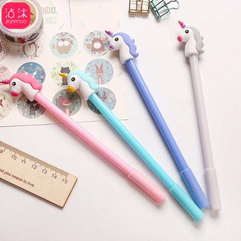 Kawaii Cartoon Gel Pens (Buy one & get another for free) 2