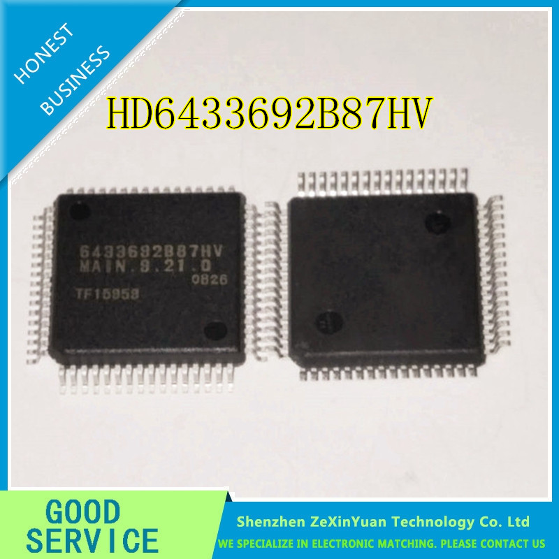 2PCS   New Original HD6433692B87HV 6433692B87HV MAIN.9.21.0 QFP2PCS   New Original HD6433692B87HV 6433692B87HV MAIN.9.21.0 QFP