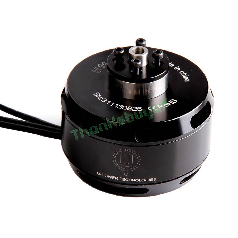 Practical Tiger Motor High Efficiency Multi-rotor Motor T-motor U11 90kv/120kv Tm U-power 6-12s Brushless Motor Rapid Heat Dissipation
