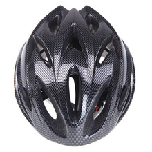 Good deal 18 Vents Ultralight Integrally-molded Sports Cycling Helmet with Visor Mountain Bike Bicycle Adult Black