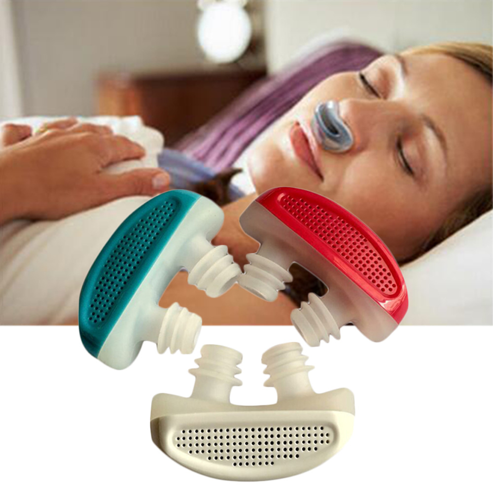 ¡Nuevo! PM2.5 de CPAP ronquidos dispositivo Apnea del sueño de ventilación La nariz aparatos congestión Nasal limpio purificador de aire