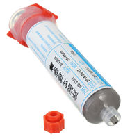 AYHF 100g Syringe Solder Paste Low Temperature Low Melt Lead Free SMT Melting Point