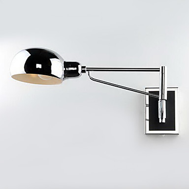 Wall lamp Light,1 Light, Modern Metal Electroplating,wall sconces,  E26/E27 ,For Bathroom living room bedroom study