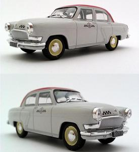 Image 1 - 1:43 scale alloy car models, high simulation Volga TAXI car toys,diecast metal model,educational toy vehicles,free shipping