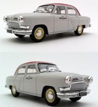 1:43 schaal legering automodellen, hoge simulatie Volga TAXI auto speelgoed, diecast metal model, educatief speelgoed voertuigen, gratis verzending