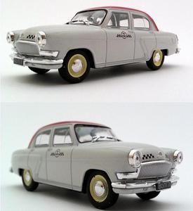 Image 1 - 1:43 스케일 합금 자동차 모델, 높은 시뮬레이션 volga 택시 자동차 장난감, 다이 캐스트 금속 모델, 교육 장난감 차량, 무료 배송
