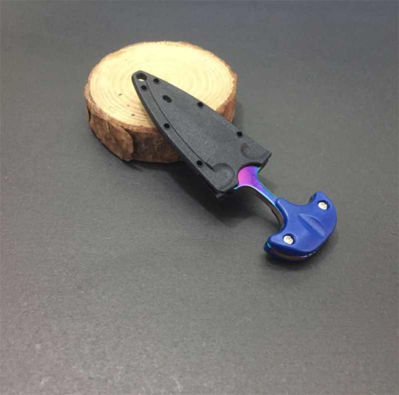Многофункциональный мини-нож для выживания подвесное ожерелье лезвие портативный инструмент для выживания на открытом воздухе кемпинга нож случайный цвет/200 шт