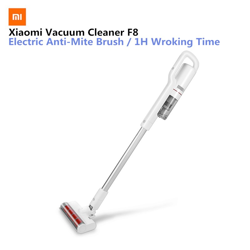 Xiaomi Mijia Roidmi F8 Smart Vacuum Cleaner With Wifi App Remote Control With Led Night Light For Xiaomi Smart Home Kit фильтр xiaomi hepa для roidmi f8