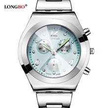 2016 LONGBO Brand font b Women b font Dress Quartz Wrist Watches Ladies Famous Luxury Brand