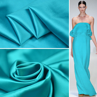 19 Mm stretch silk satin simple fashion elegant fabric clothing design fabric