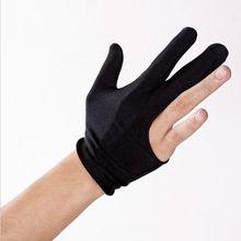 Fingers cue бильярд перчатки черный
