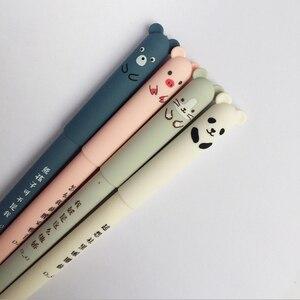 Image 3 - Ручки гелевые со стираемыми медведями, 30 шт./лот, 0,35 мм