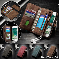 For iPhone XS Case iPhone XS Max XR Leather Card Wallet Magnet Business Phone Case for iPhone 6 6S 7 8 Plus Flip Leather Cover