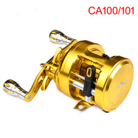PRO BEROS 12BB Fishing Reel CNC Machined Forged AL Alloy Body Bait Casting Reel Aluminum Stainless