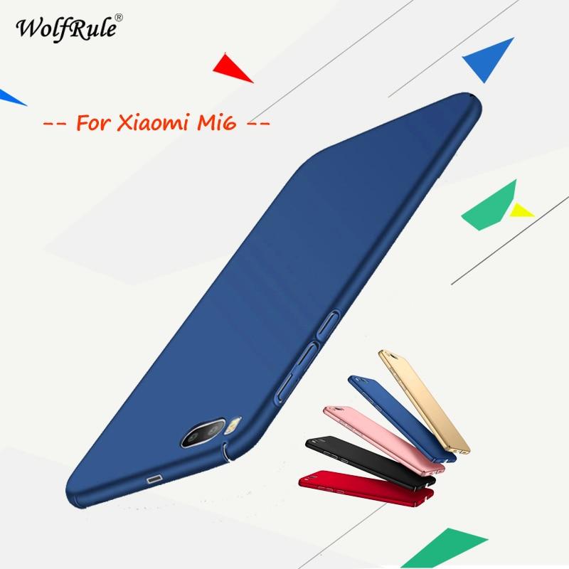 Pro Pouzdro na telefon Xiaomi Mi6 Pouzdro Anti Knock Smooth Slim PC Pouzdro na mobilní telefon Pouzdro pro Xiaomi Mi6 Pouzdro 5.15 '' WolfRule