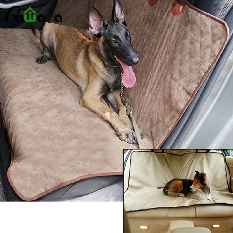 Waterproof Seat Cover Rear Bench Blanket Beds Cushion Protector Pad for Dog Pet Seat Cove both sides of winter and summer