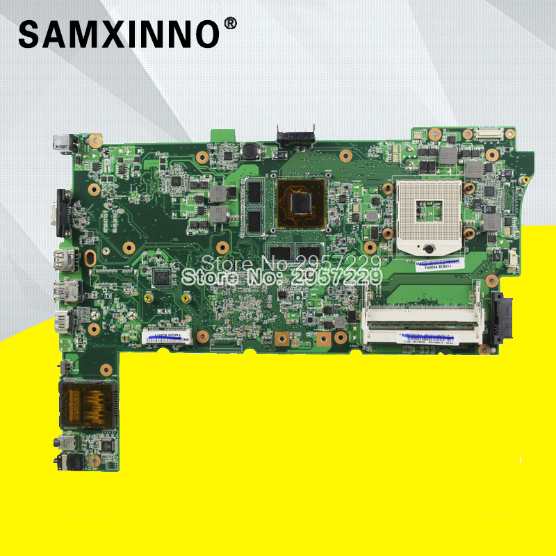Laptop Mainboard-Support ASUS for N73j/N73jg/N73jq/N73jf I3 And I5 2-slots/Fully-tested/S-6