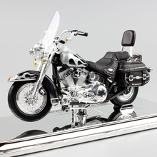 1:18 Scale 2002 FLSTC Heritage Softail Classic Diecast touring street model motorcycle cruiser motorbike toys for kids