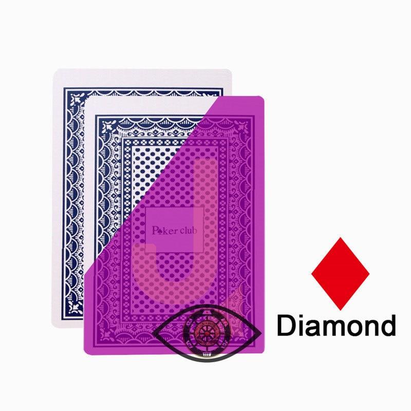 Caixa de Presente de Madeira Água Durável Pvc Poker Cartões