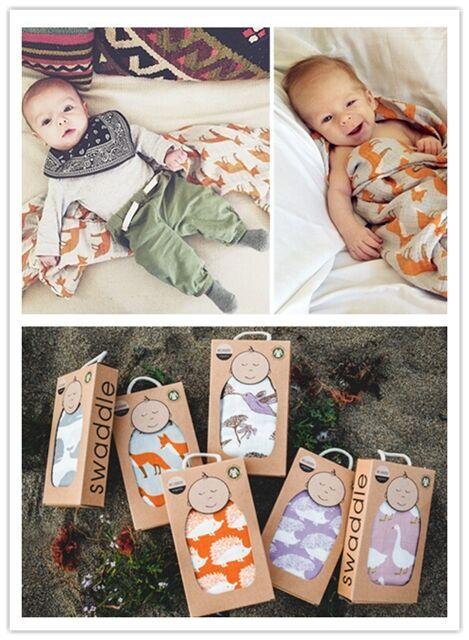 2015 venda quente bebê verão algodão orgânico macio cobertor crianças recém-nascidas colorido envoltório musselina Swaddle 120 cm x 120 cm frete grátis
