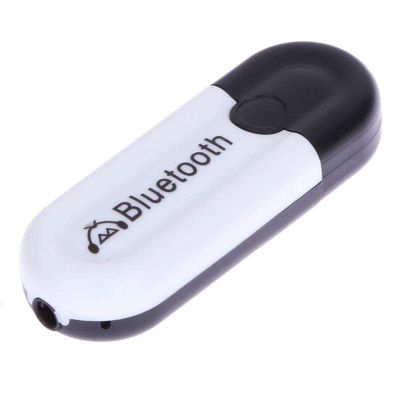 2 In 1 Universal 3.5mm Streaming Car Wireless Bluetooth Car Kit AUX Audio Music Receiver A2DP