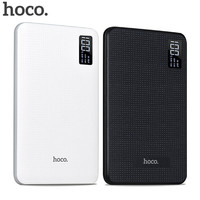 HOCO Power bank 30000mAh Portable PowerBank Phone quick Charge USB Output External Batteries Pack Digital Display Mobile Charger